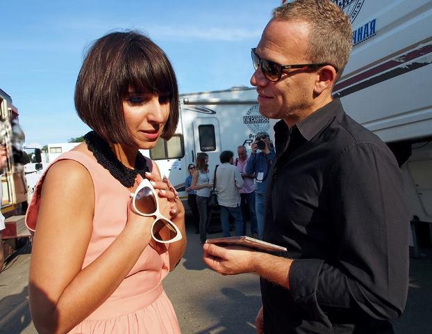 Джамала со знаменитым израильским контрабасистом Авишаем Коэном. Львов 2013