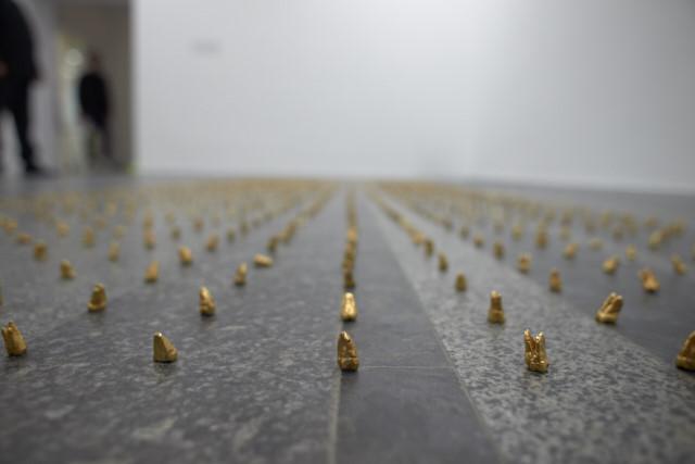 Инсталляция китайского художника Хе Сяньюй