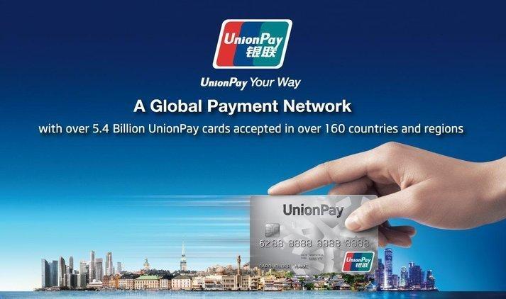В государство Украину заходит китайская система платежей UnionPay