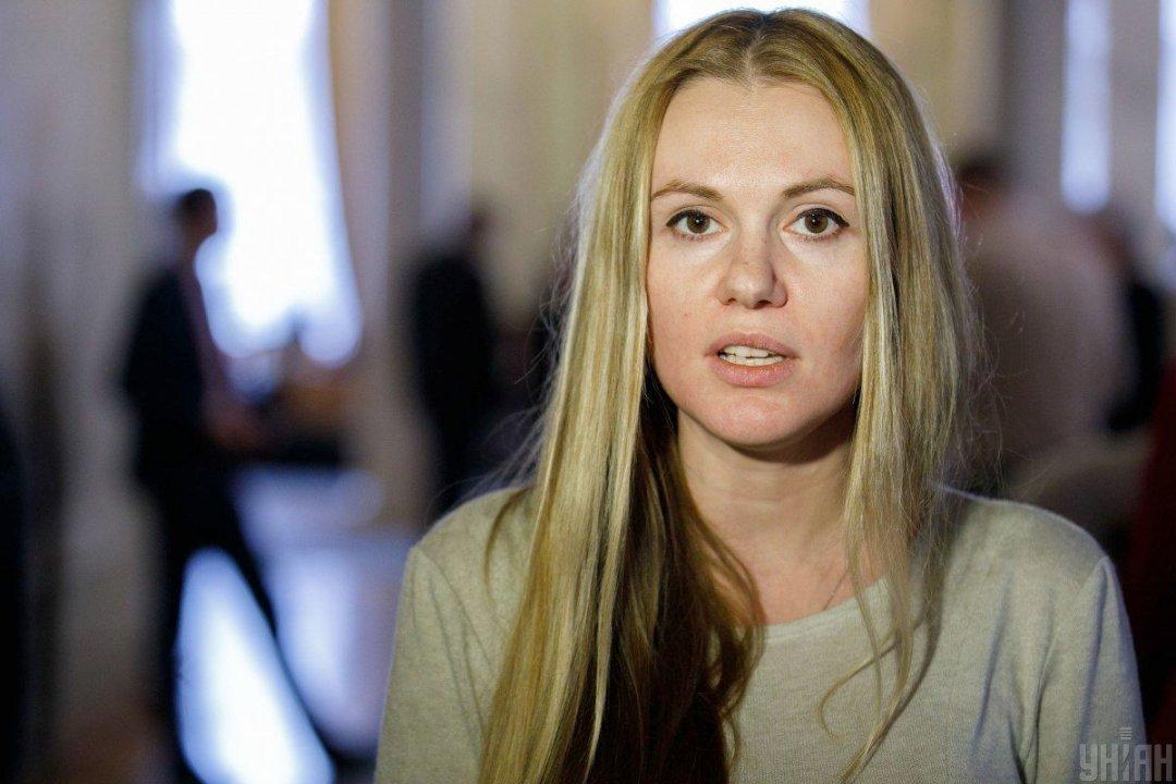 """Слуга народа"""" Анна Скороход заявила, что ее мужа задержали из-за ..."""