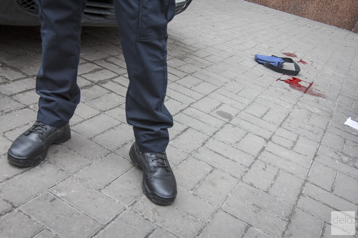Место убийства Вороненкова. Фото: Татьяна Довгань