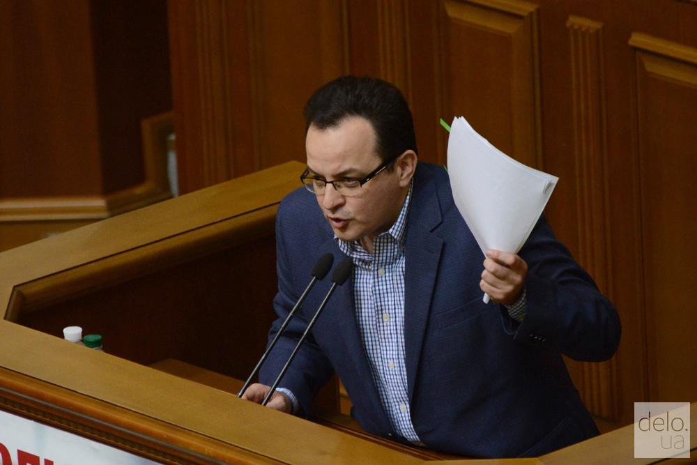 """Лидер фракции """"Самопомич"""" Олег Березюк. Фото: Виталий Головин"""