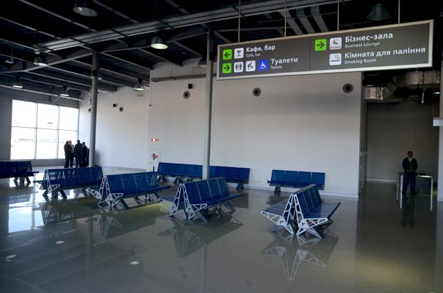 Открытие терминала D аэропорта Киев (Фото Роман Пилипей)